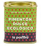 LA PASTORA | Producto Gourmet | Pimentón Dulce Ecológico | 75 gr. | 100% Natural | Pimentón en Polvo | Potente Antioxidante | Apto Para Celíacos | Condimenta Tus Comidas | Pimentón Español