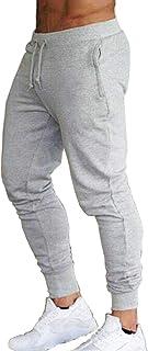 Men's Slim Fit Sweatpants Running Track Pants Gym Workout Jogger Pants