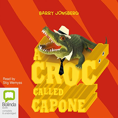 A Croc Called Capone audiobook cover art