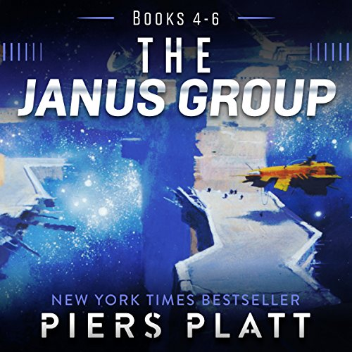 The Janus Group: Books 4-6 audiobook cover art