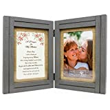 Best Gifts for Mom from Daughter or Son - A Prayer for My Mother - 5 x 7 Picture Frames - Wood Wall Art or Table Decor - Birthday, Mothers Day, Mother of the Bride or Groom, Christmas, Valentines Day