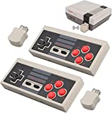 2pcs Wireless Game Controller for NES Classic Edition, NiceCo 2.4G No-Wired Gamepad Joypad with Receiver for NES Classic Gaming System Console