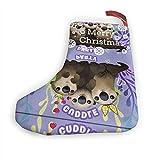 JONINOT Coccole 10 in calze di Natale Calze appese al camino di Natale Decorazione per accessorio per feste di Natale (2 pezzi)