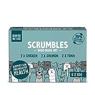 Scrumbles Natural Wet Cat Food Multipack, 6 X 85g