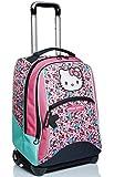 Big Trolley Hello Kitty, Fabulous, Rosa e Azzurro, Spallacci per Uso Zaino, Scuola & Viaggio
