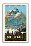 Pacifica Island Art - Pilatus - Luzern, Schweiz -