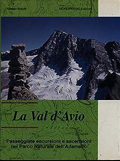 La val d'Avio. Passeggiate, escursioni e ascensioni nel parco naturale dell'Adamello (Le piccole monografie)