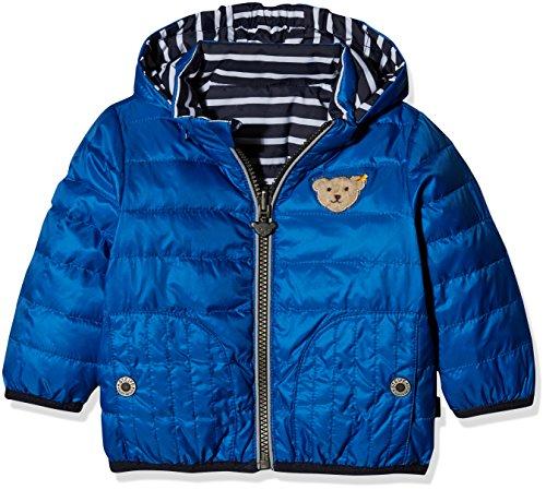 Steiff Collection Jungen Jacke Anorak Wendbar 6833409, Blau (Strong Blue 3083), 62