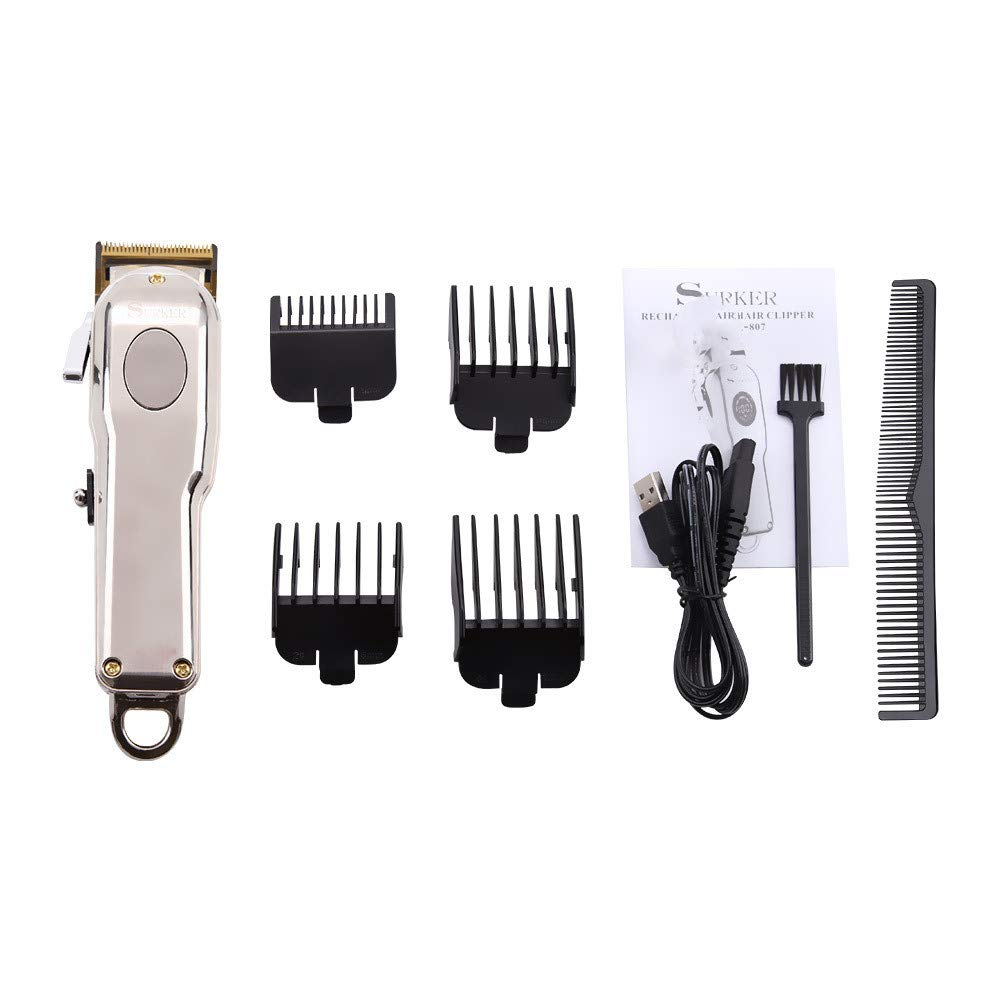FUZHEN Cordless Rechargeable Clipper Hair List price Trimmer Spasm price