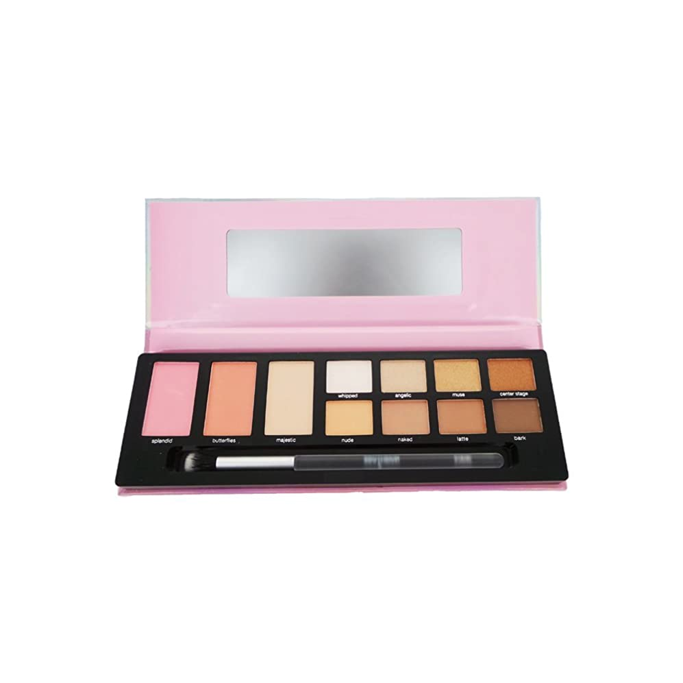 構築する息切れ酒(3 Pack) PROFUSION Metallized Eye & Cheek Palette - Nude (並行輸入品)