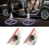2 luces de bienvenida con el logotipo de la puerta del coche, luces de bienvenida, accesorios de luz de cortesía para Mercedes B-E-N-Z A B C E GLC GLE GLS Series