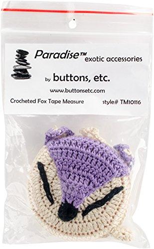 Paradise Exotic sjaal Pin Paradise gehaakte meetlint 152,4 cm