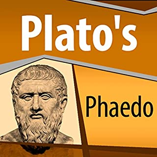 Plato's Phaedo audiobook cover art