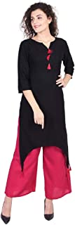 Vihaan Impex Indian Tunic Long Cotton Women Dress Partywear Kurtis For Women