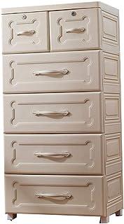 Yaeele Lave-linge Placard Tiroirs Rangement Organisateur de Cabinet for les vêtements Jouets Chambre Salle de jeux (Couleu...