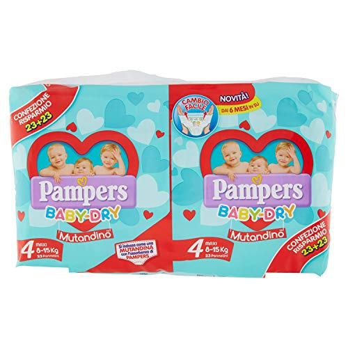 Pampers Baby Dry Mutandino