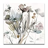 WEXFORD HOME Dainty Blooms I Gallery Wrapped Canvas Wall Art, 32x32, Multicolor