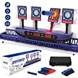 Moving Targets for Nerf Guns - Auto Reset Electronic Scoring Shooting Digital Targets, 4 modes...