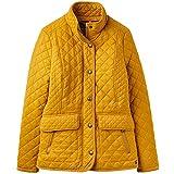 Joules Women's Newdale Coat, Yellow (Caramel Caramel), (Size:12)