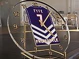Australian Football League, orologio da tavolo personalizzabile, Uomo donna Bambino, Fremantle Dockers