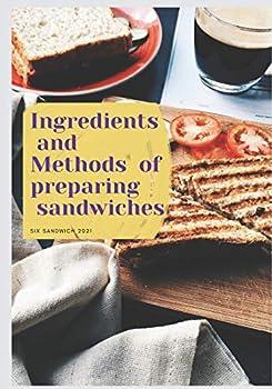 Ingredients and Methods of preparing sandwiches  Sandwich maker Hamilton beach 2021