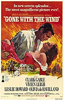 Gone With The Wind POSTER Movie (27 x 40 Inches - 69cm x 102cm) (1974)