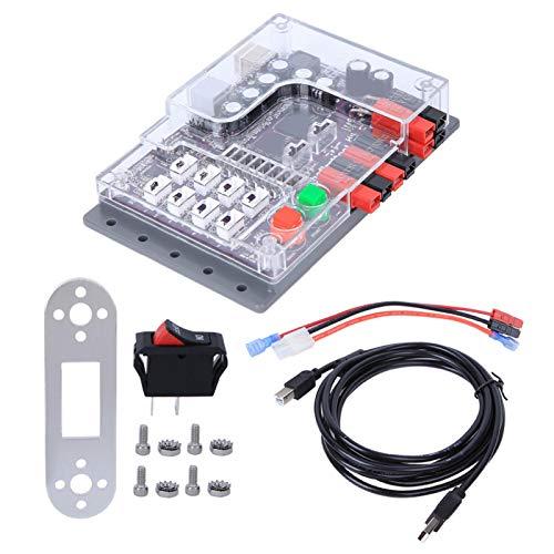 Mxzzand Piezas de Robot Industrial de 32 KB, Funcionamiento Estable, Memoria Flash programable, Placa de Control de Robot para Equipos industriales