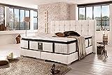 Schlichter Möbel Cama canapé London Deluxe (blanco, 200 x 200 cm)
