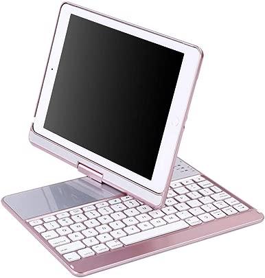 fuwahahahah 360 Grad drehbare kabellose Bluetooth-Tastatur USB-Ladeger t tragbar f r Zuhause und Reisen f r Apple iPad Pro 9 7 Air2 Schätzpreis : 76,19 €