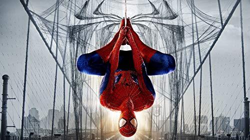 Benutzerdefinierte Superheld Wandbild Spider Man Foto Tapete Seidentapete Große Wandkunst Raumdekor Decke Schlafzimmer Kinderzimmer