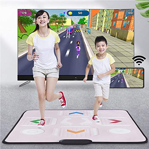 Multifunctional Dancing mat Home Wireless Treadmill Fitness Weight Loss Yoga mat HD Massage Dancing mat