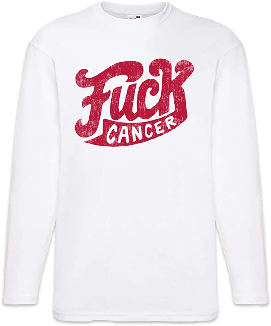 Urban Backwoods Fuck Cancer Large Courier shipping free shipping discharge sale Sleeve T-Shirt Long