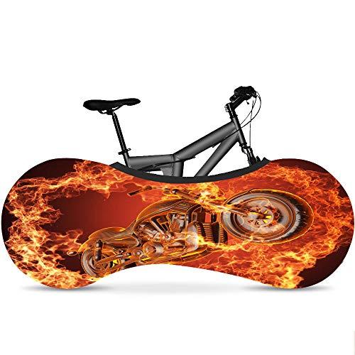 LSJZZ Bicicleta Cubierta Interior para Almacenamiento Y Transporte, Elástico Suciedad Prueba Tela, Bicicletas Cubierta De Protección De Viaje, Múltiples Diseños, Elegante, Accesorios,Color b