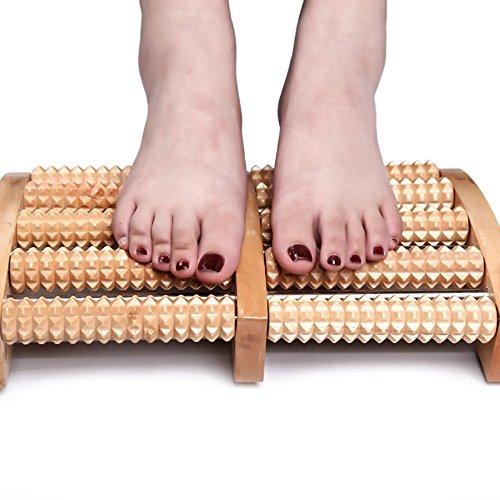 Preisvergleich Produktbild Fuß Massagegerät,  angeer Dual Roller Fuß Massagegerät mit Massage Ball für Plantarfasziitis Recovery