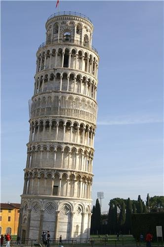 LEANING TOWER OF PISA GLOSSY POSTER PICTURE PHOTO italy campanile cathedral