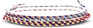 Made by Nami Boho Surfer-Armband 2-er Set Damen & Herren - Handmade Strand Festival Accessoires - 100% Wasserfest & Verste...