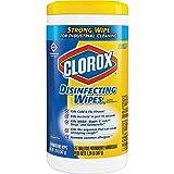 Clorox Disinfecting Antibacterial Wipes, Crisp Lemon - 75 Count