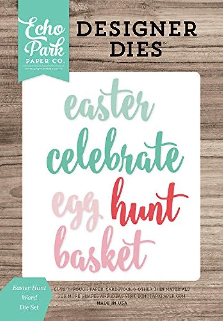 Echo Park Paper Company Easter Hunt Word Die Set