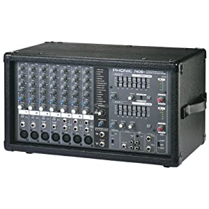 Phonic Powerpod 740 Plus 440W 7-Channel Powered Mixer with DFX