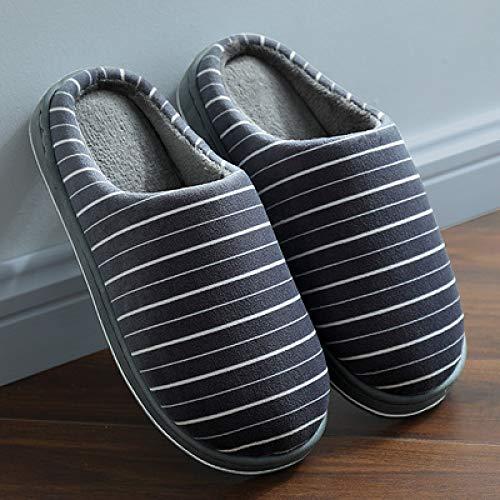 LLSPHYDY Zapatillas Mujer Zapatillas de algodón de Felpa de Invierno para Calidez, Ocio y Comodidad, Zapatos de Interior para el hogar, Zapatillas Antideslizantes