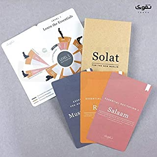 TAKVA Prayer Flash Cards for Muslims | Solat for The New Muslim, A Step-by-Step Guide to Prayer in Islam, How to Pray in I...