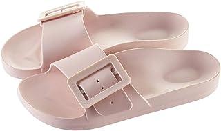 zxb-shop Flip Flop Women's Comfort Slide Sandals Lightweight Non-Slip Beach Pool Bathroom Slippers Water Shoes Slides