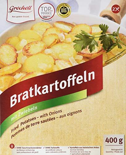 Grocholl Bratkartoffeln mit Zwiebeln, 9er Pack (9 x 400 g)