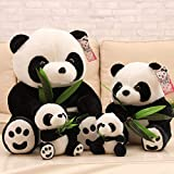 Sjdxd Juguete de Peluche Juguete Relleno Felpa muñeca Linda de la Panda Chinos comen...