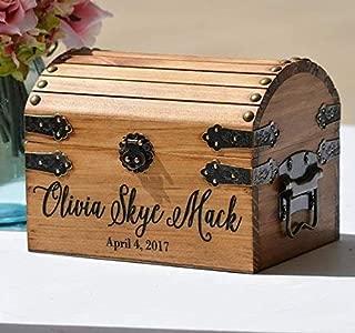 New Baby Gift Box Infant Keepsake Box Small Memory Trunk Boho Shower Gift for Mom Ideas Custom Engraved Treasure Chest for Newborn