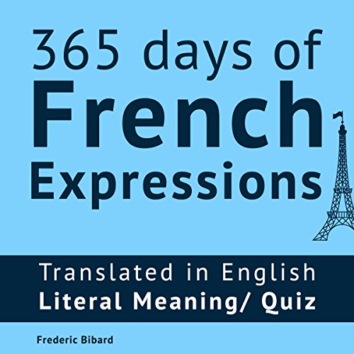 365 Days of French Expressions audiobook cover art