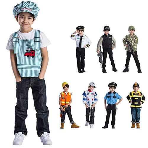 Viste a América - 835 - Set Disfraz Ingeniero - Edad 3-6 años - One Size - Niños 3-6 años