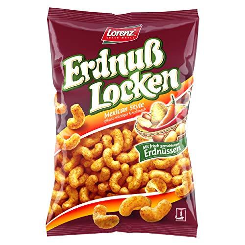 Lorenz Snack World ErdnußLocken Mexican Style, 9er Pack (9 x 200 g)