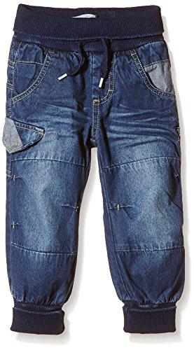 NAME IT NITRAY HIGH M BAG/XR DNM PANT NOOS, Jeans Bébé garçon, Bleu (Dark Blue Denim), 86