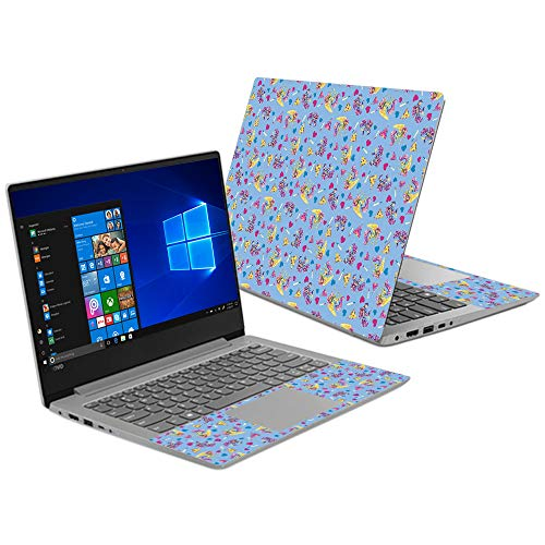 MightySkins Skin Compatible with Lenovo Ideapad 330S 14' (2018) - Castle Unicorns | Protective, Durable, and Unique Vinyl Decal wrap Cover | Easy to Apply, Remove, and Change Styles | Made in The USA